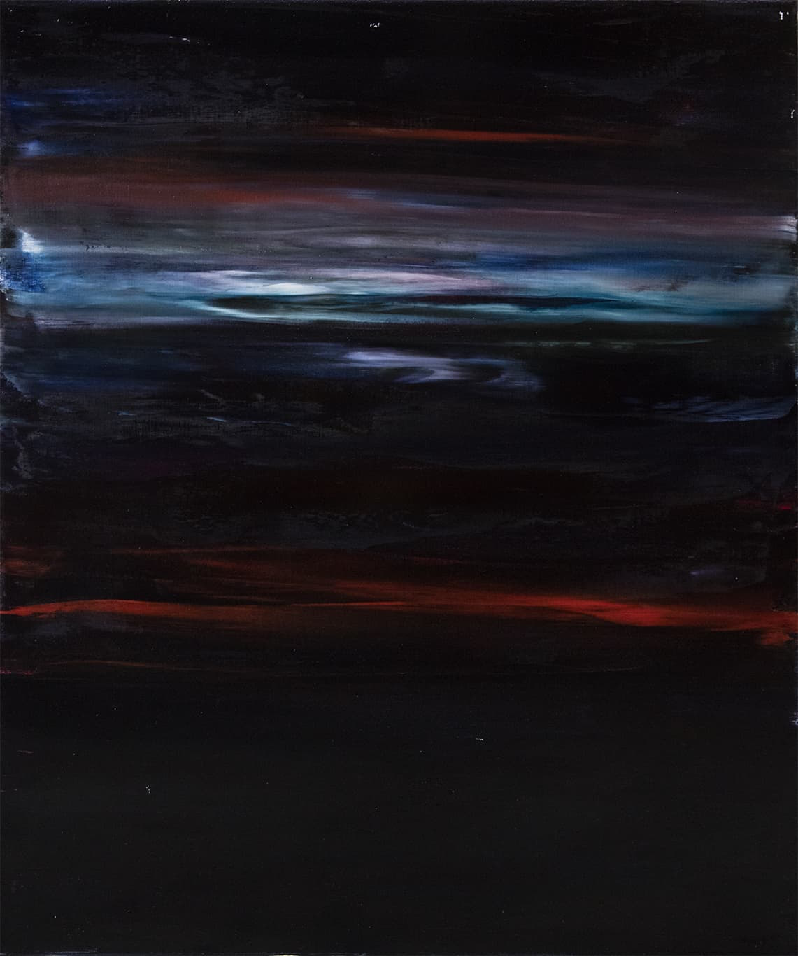 Rachel Valdés Into the Space_8 120x100cm, Óleo sobre lienzo