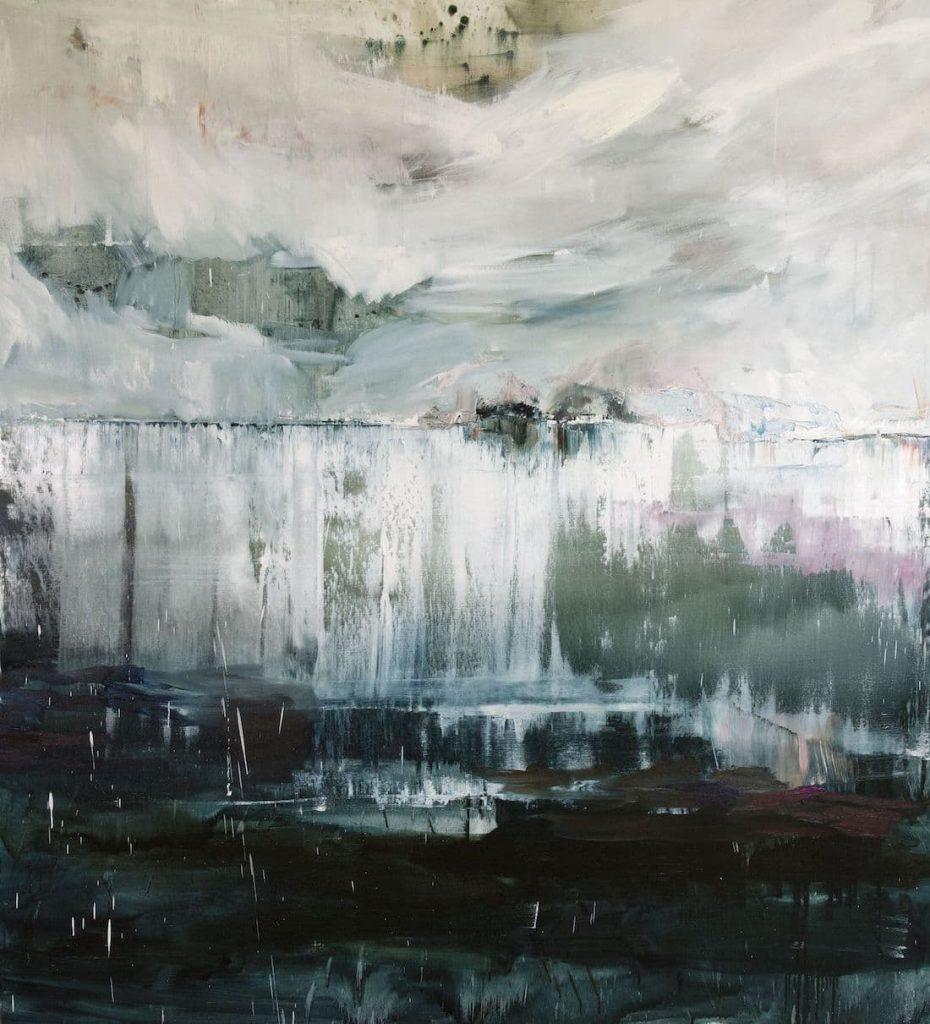 Rachel Valdés - Once in Time-1 - Óleo sobre lienzo 120 x 100 cm
