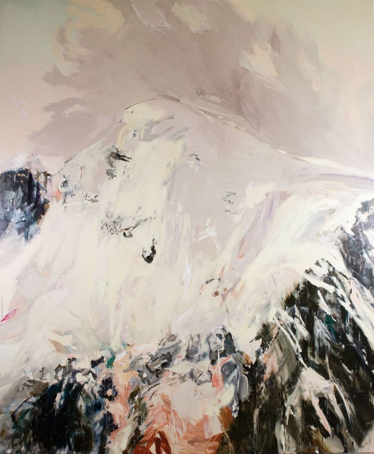 Rachel Valdés - Once in Time-11 - Óleo sobre lienzo 120 x 100 cm