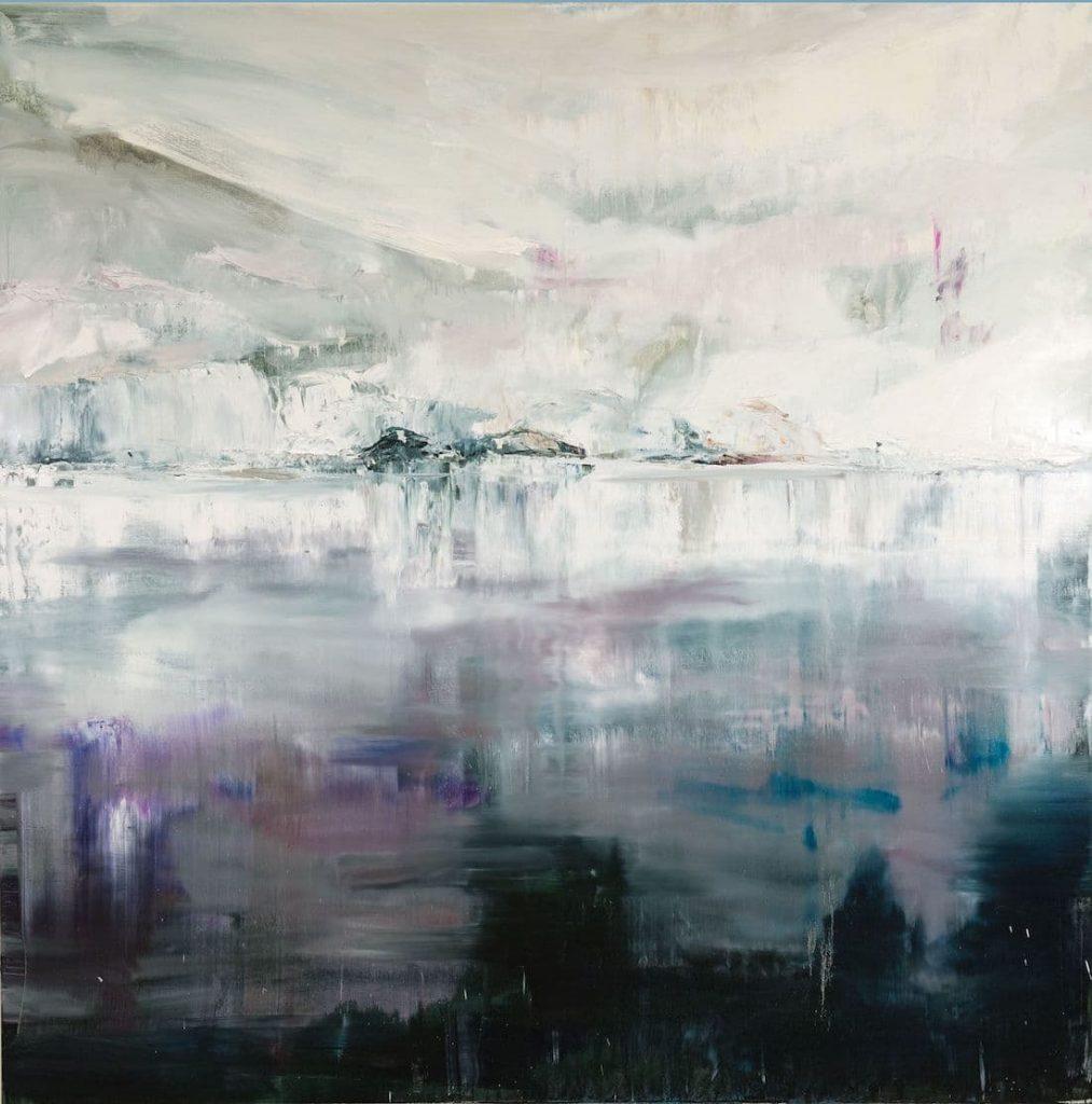 Rachel Valdés - Una vez en el tiempo-2 - Óleo sobre lienzo 120 x 100 cm