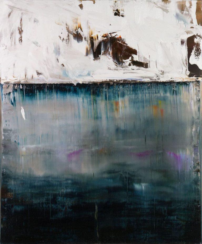 Rachel Valdés - Once in Time-5 - Óleo sobre lienzo 120 x 100 cm