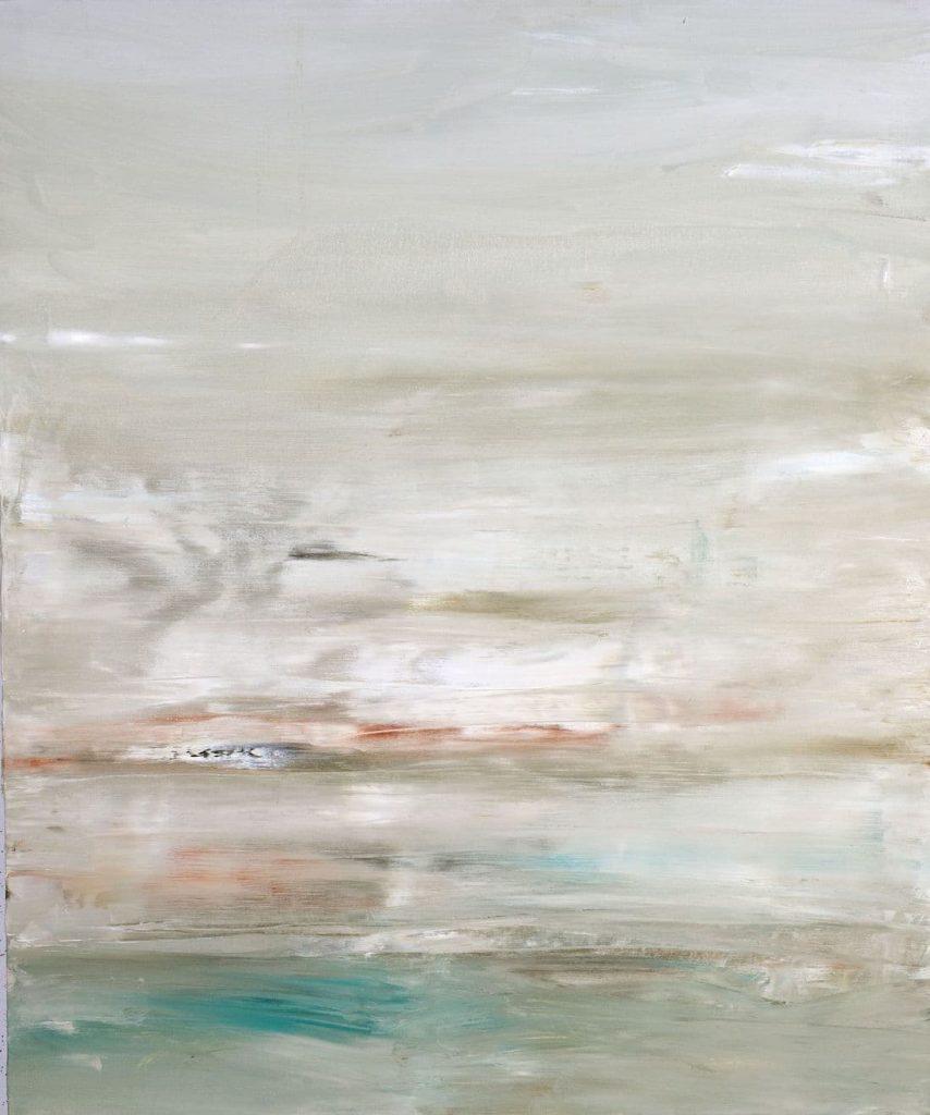 Rachel Valdés - Once in Time-8 - Óleo sobre lienzo 120 x 100 cm